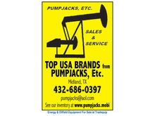 Artificial Lift - Pump Jacks |