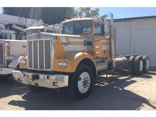 KENWORTH W900 Winch Trucks for