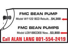 Used FMC Pumps - Plu