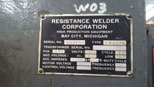 RWC Projection Welder, 2-Press