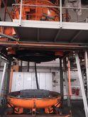 Degussa Vertical vacuum furnace