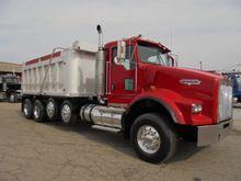 used kenworth dump trucks for sale machinio. Black Bedroom Furniture Sets. Home Design Ideas