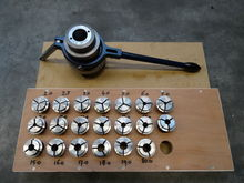 Used collet kit in D