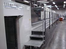 2008 Komori LS 840-P+LX 5465
