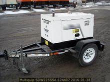 2012 MultiQuip SDW225SSA