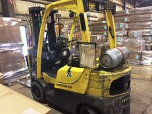 4,800 lBS. HYSTER S50CT LP FORK