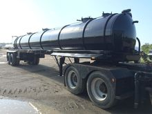 2007 Eagle Vacuum Tank Trailer