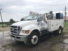 2007 Ford Utility Bed F750