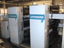 1990 Lithoman II Rotary offset