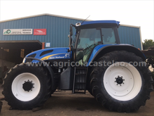 TRACTOR NEW HOLLAND TVT190 AC71