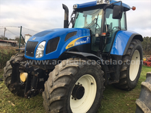 2007 TRACTOR NEW HOLLAND TVT195