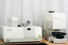 JASCO FT-IR 660 Plus and IRTRON