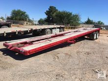 48 Ft. T/A Oil Field Flatbed Tr