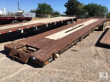 48ft T/A Oil Field Flatbed Trai