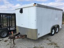 2002 Pace 14 Ft T/A Enclosed Tr