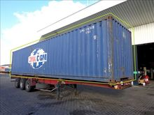 2001 CIMC Zee container 40ft.