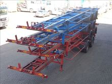 1973 Van Hool Container chassis