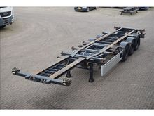 2007 MKF Container chassis 40ft