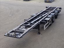 2002 HTF Chassis 3-assig liftta