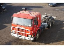 1987 Scania 112M 6x2 chassis ca