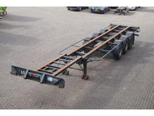 1987 Pacton Container chassis 3