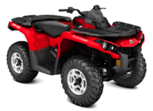 Can am Outlander DPS 570 ATV