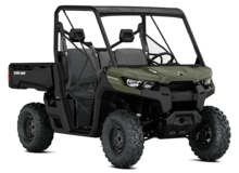 2016 Can-Am Defender Side-by-Si