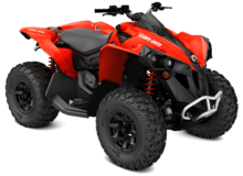 New 2017 Can-am Renegade 850 EF