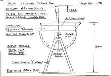 GIUSTI 45 litre tilting pan