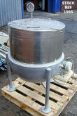 Giusti 120 litre jacketed pan