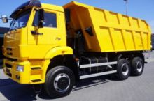 2011 Kamaz BACKSIDE TIPPER 6x6
