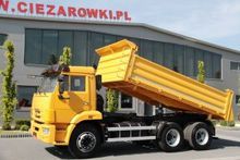 2011 KAMAZ 65115 6x4 3 SIDED TI