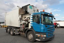 2010 SCANIA Garbage truck P280