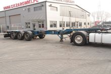 2008 BODEX Container trailer 3