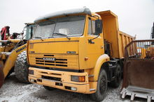 2008 KAMAZ 6540 8x4 BACKSIDE TI