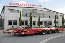2010 ROYEN 3 AXLE TRAILER LOW L