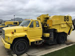 Tymco 600 Sweeper on 1984 S/A T