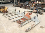 Lot of (5) Pallet Jacks
