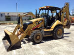 2014 Cat 420F 4x4 Backhoe Loade