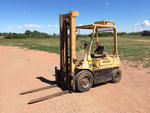 Hyster H50H Pneumatic Tire Fork