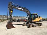 2012 Volvo EC160DL Track Excava