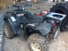 2012 Hytrack HY420 Quad bike