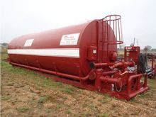 500bbl Horizontal Mud Tank with