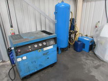 Abac 40CFM Compressor Outfit