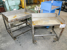 Two off Mobile Fabricated Metal