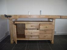 Rubberwood Workbench