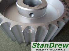 Wheel for feed planer four-side