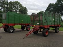 farm trailer : 1994 Hawe silage