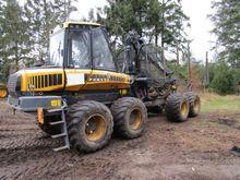 2008 Ponsse Elk 8W udkørselsmas