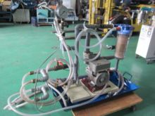 Pressure increase pump with fil